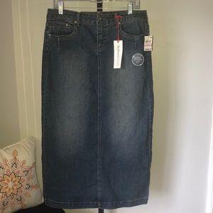 NWT Style & co denim skirt